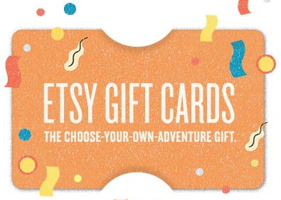 $25 Etsy Gift Card - Emailed