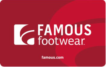 $25 Famous Footwear Gift Card - Emailed