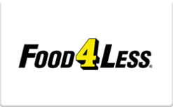 $10 Food 4 Less Gift Card - Shipped