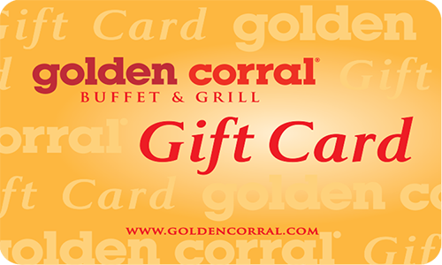 $25 Golden Corral Gift Card - Shipped