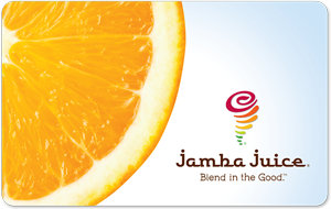$5 Jamba Juice Gift Card - Emailed