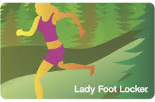 $10 Lady Foot Locker Gift Card - Emailed