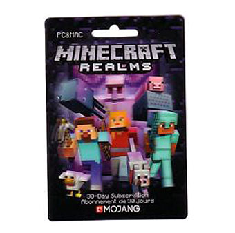 Minecraft Realms 30 Day Subscription