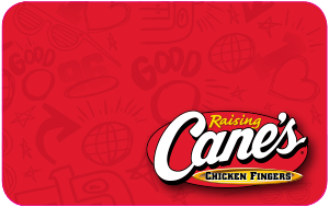 $15 Raising Cane's Gift Card - Shipped