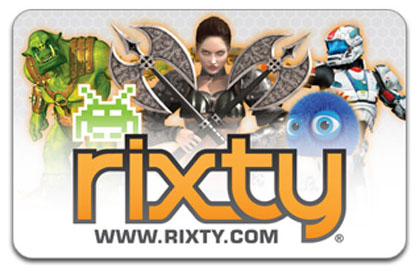 $10 Rixty Gift Card