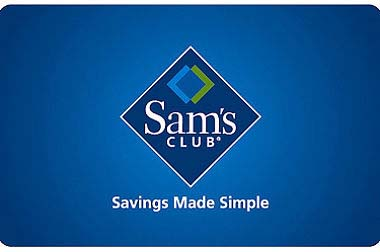 $10 Sam's Club Gift Card - Shipped