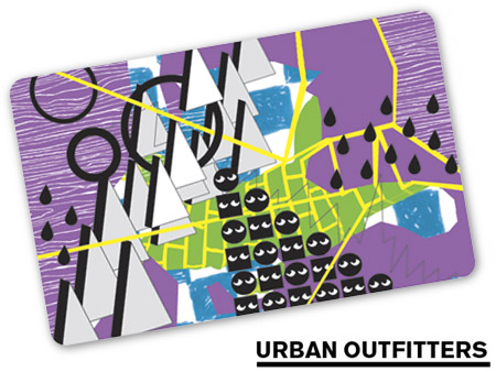 $50 Urban Outfitters Gift Card - Emailed
