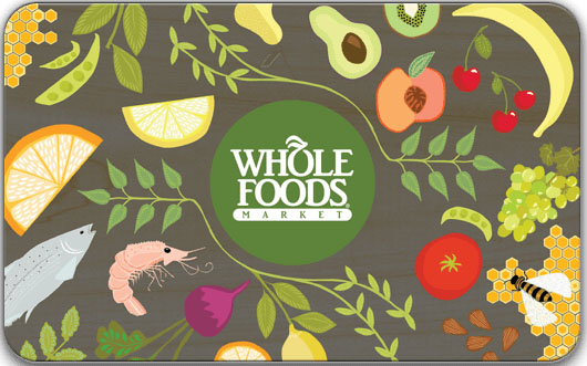 $25 Whole Foods Market Gift Card