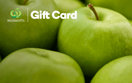 $25 AUD Woolworths eGift Card